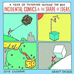 The Shape Of Ideas 2018 Wall Calendar A Year Of Thinking Outside