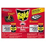 Raid Double Control Small Roach Baits Plus Egg Stopper, 12 CT (Pack - 1)
