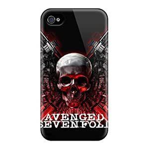 Evanhappy42 XZO21078Dhxg Protective Cases For Iphone 4/4s(avenged Sevenfold)