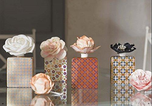 Baci Milano MAROC E ROLL FIORE 11 cm in corteccia di gelso per PROFUMATORE AMBIENTE (magnolia lilla)