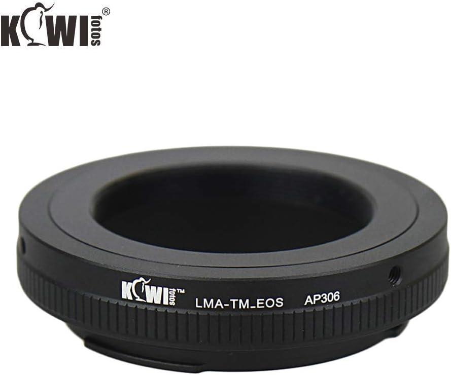 FOMITO Kiwifotos Lente Supporto Adattatore Per T-Mount Lenti Per EOS Canon Ef Supporto Fotocamere