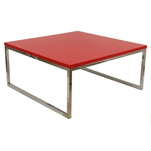 WHYNOTHOME WH147.MBJEC92RO Mesa, Acero, Ancho: 92 cms Fondo: 92 ...