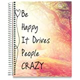 #7: Tools4Wisdom Planner 2018-2019 8.5-x-11 Hardcover - Dated July 2018 to June 2019 Academic Year Calendar - Daily Weekly Monthly Yearly Goals Journal Agenda - Personal Organizer w Stickers Accessories