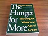 The Hunger for More, Laurence Shames, 0679733280