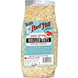 quick cooking oats organic - Bob's Red Mill Oats Rolled Quick Cooking Organic, 32-ounces (Pack of4)