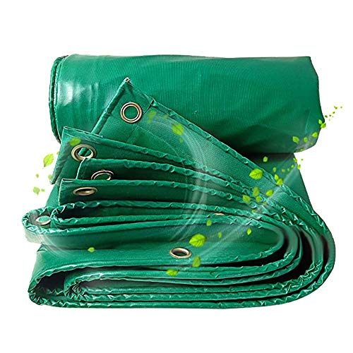 - Nevy Tarpaulin Waterproof Outdoor Warehouses Cover Heavy-Duty Tarps with Grommets Green,450g /m² tarps (Size : 5x8m)