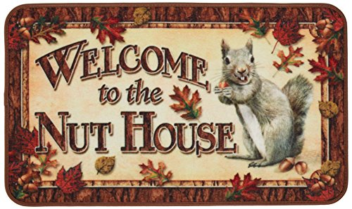Rivers Edge Products Nut House Door Mat