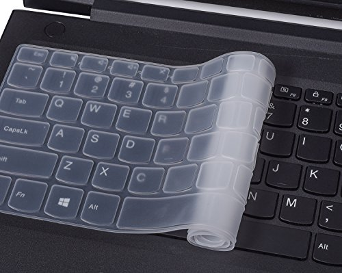 Lenovo Yoga 720 Keyboard Cover Ultra Thin Silicone Keyboard Skin for Lenovo Yoga 720 12.5 Inch, Lenovo Yoga 720 13.3 Inch, Lenovo Yoga 920 13.9 Inch Laptop, Clear