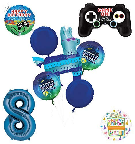 Mayflower Products Battle Royal 8th Birthday Party Supplies Balloons Bouquet Decorations