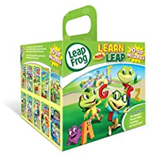 This mega pack contains ten popular Leapfrog learning DVDs in one collection, perfect for parents and learners alike!
