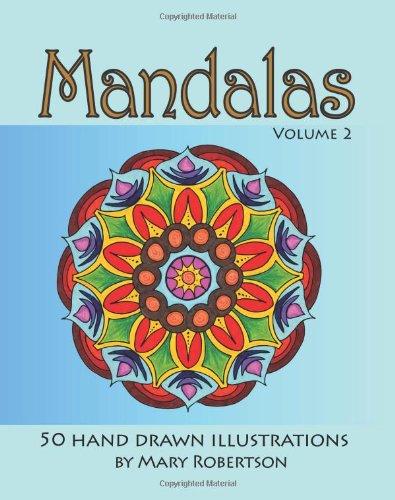 Read Online Mandalas: 50 Hand Drawn Illustrations pdf