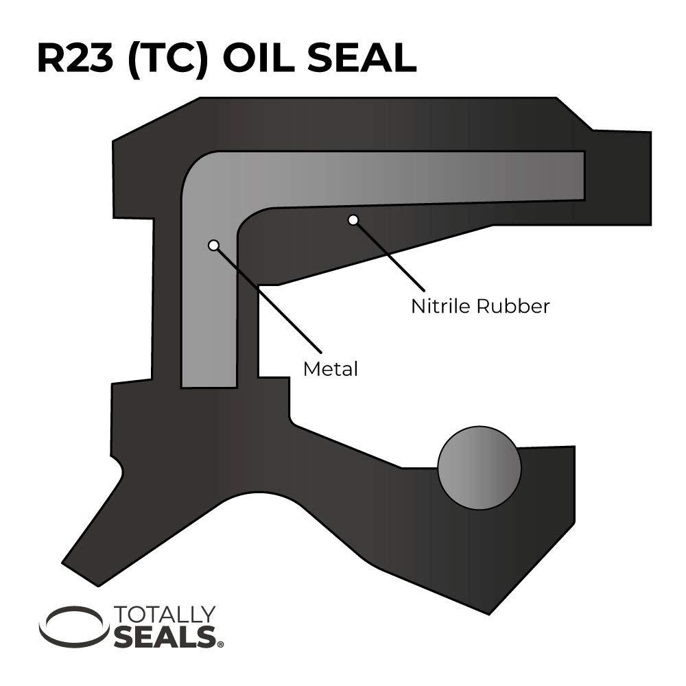 Funda Doble Labio de Goma De Nitrilo TC 55mm X 90mm X 10mm Sello de aceite