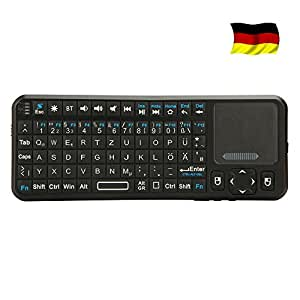 iPazzPort™ ProMini Bluetooth Mini Wireless Keyboard, Backlit with Multi-Touchpad / Laser Pointer for Google Nexus 7 / Google Android TV / iPhone 4 4S 3GS 3G / Samsung Galaxy S S2 S3 / HTPC / PC / Iphone / Android 3.0 Tablet / Mac OS KP-810-10BTT
