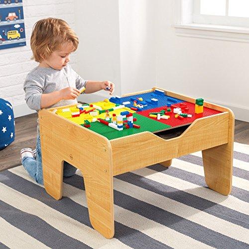 kidkraft lego compatible 2 in 1 activity table buy. Black Bedroom Furniture Sets. Home Design Ideas