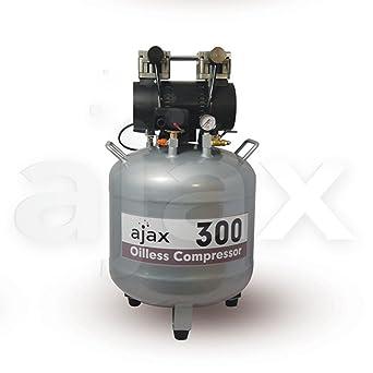Compresor de Aire Sin Aceite 1500W de 70L AJAX300 AJAX