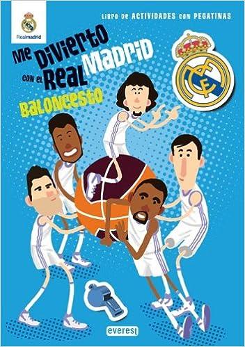 Me divierto con el Real Madrid. Baloncesto: Libro de ...