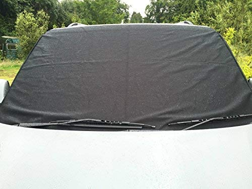Deluxe Transporter Van T5 Window Front Screen Curtain Wrap Cover Windscreen FREE STEP MATS WITH EVERY COVER