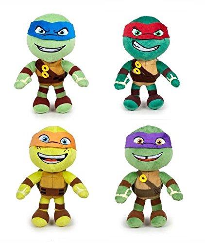 Tortugas ninja - Pack Mochila 28cm + 4 peluches 21cm Calidad ...