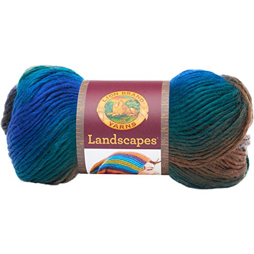 Lion Brand Yarn 545-214 Landscapes Yarn, Skyline