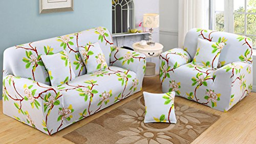 Amazing Chezmax Printed Couch Cover Polyester Spandex Fabric Sofa Ncnpc Chair Design For Home Ncnpcorg