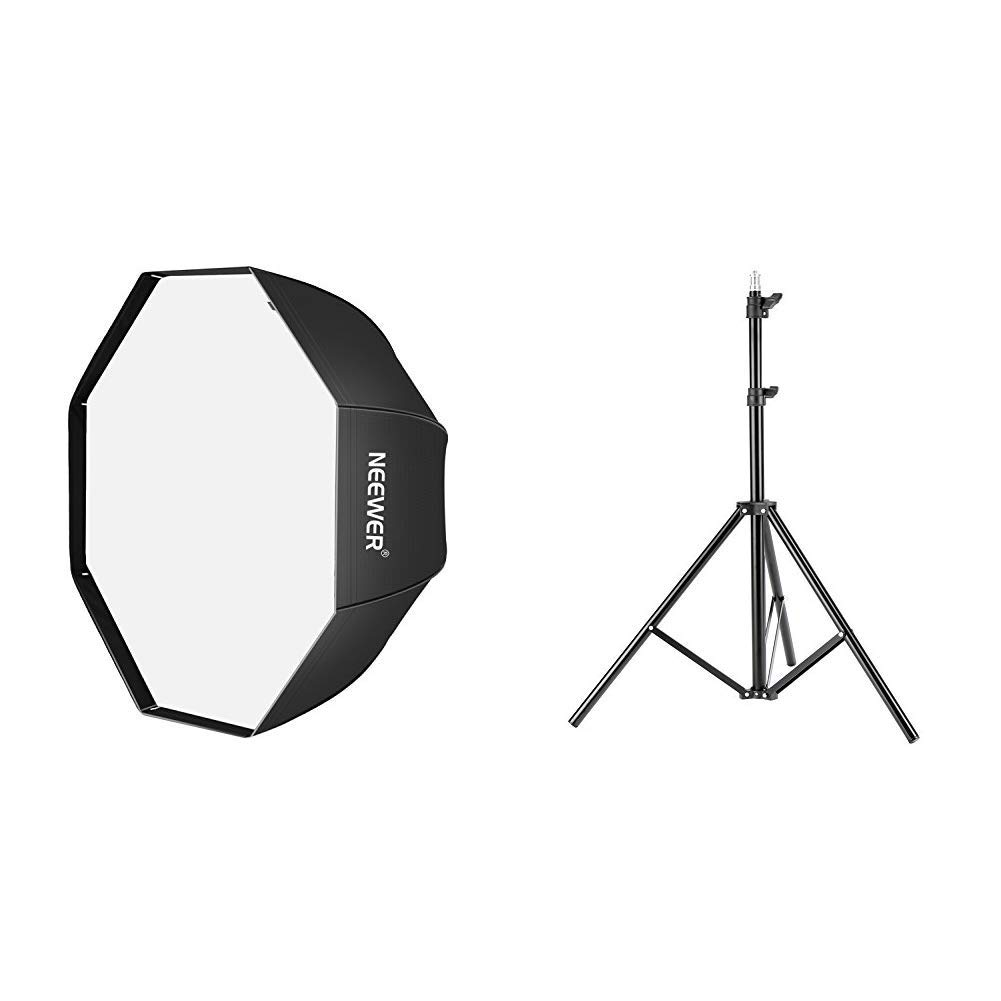 Neewer 32 inches /80 centimeters Octagon Softbox Octagonal Speedlite, Studio Flash, Speedlight Umbrella Softbox with Carrying Bag for Portrait or Product Photography. by Neewer