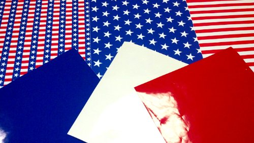 - AMERICANA THEME PACK of Craft Vinyl 4th of July American Flag Patterns