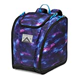 High Sierra Ski Boot/Snowboard Boot Bag Backpack - Cosmos/Black/Pool