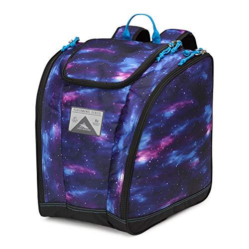 High Sierra Ski Boot/Snowboard Boot Bag Backpack - Cosmos/Black/Pool