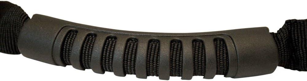 T1A 2000-2015 Jeep Wrangler Molded Grab Handle Strap for Roll Bar Black Color T1A-82211740 TruBuilt 1 Automotive