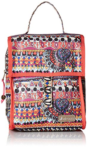 90cc68a55 Sakroots Women's Artist Circle Packable Lunch Bag Daypack, Camel One World,  One Size