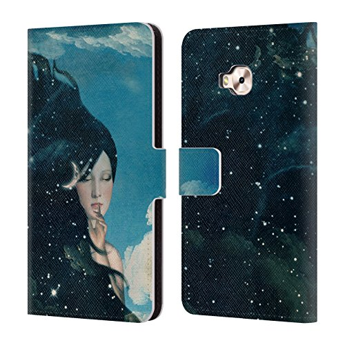 Night Just Head Selfie Pro Book Designs 4 Surreal For Case Belle Zenfone Flores Swirl Cover Paula ZD552KL Case Swirl Leather Lady Official Swirl Space Wallet CASwCq