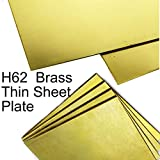 GOONSDS H62 Brass Metal Thin Sheet Foil Plate