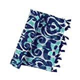Luna Lagoon 70 x 43 inch Womens Polyester Scarf or Swim Suit Wrap Accessory