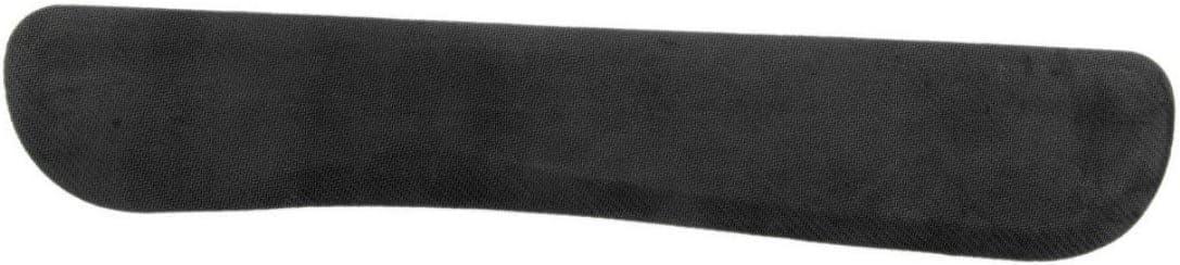 Zinniaya Support antid/érapant de soutien de repos de poignet de gel noir de bureau pour la plate-forme augment/ée de clavier de jeu dordinateur de PC