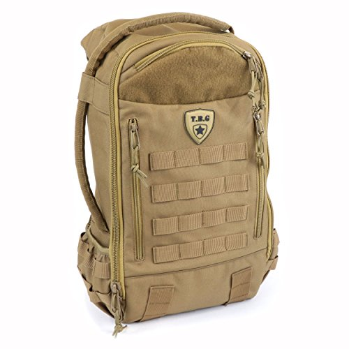 Tactical Baby Gear Daypack 3.0 Tactical Diaper Bag Backpack and Changing Mat (Coyote Brown) from Tactical Baby Gear