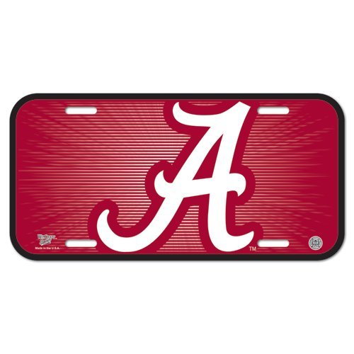 NCAA University of Alabama License Plate