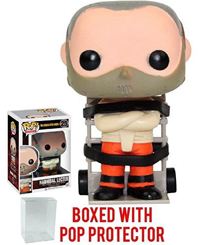 Funko Pop  Movies  The Silence Of The Lambs Hannibal Lecter Collectible Vinyl Figure  Bundled With Pop Protector