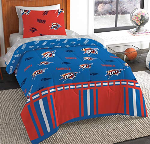- The Northwest Company NBA Oklahoma City Thunder Twin Bed in a Bag Complete Bedding Set #892680714