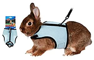 Trixie Soft Harness With Lead To Fit : Rabbits