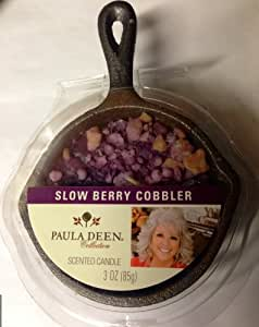 Paula Deen Collection Scented Candle - Slow Berry Cobbler Skillet Candle