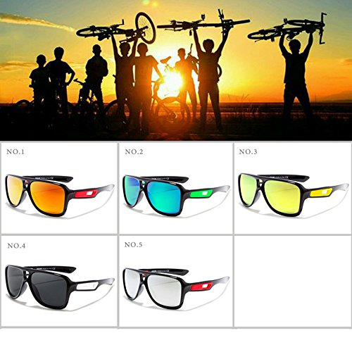 Los Color para Deslumbrante de C5 Gafas De Hombres De De Gafas C3 Sol Alta Montar Gafas De Polarizador Deportes Sol De LBY Color Moda Gama Hombre p7Xgq1HT7
