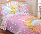 Disney Fairies Tinkerbell Whimsy Tink Full Sheet Set