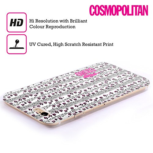 Official Cosmopolitan White Mix Animal Print Soft Gel Case for Apple iPhone 6 / 6s