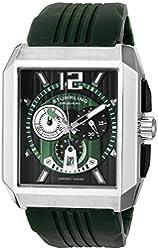 Stuhrling Original Men's 284A.3316D71 Sportsman Metropolis Chronograph Swiss Quartz Date Green Watch