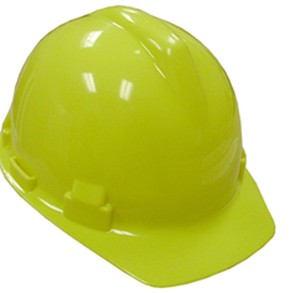 Jones Stephens Corp - Yellow Safety Hat W/4 Pt Pinlock Susp