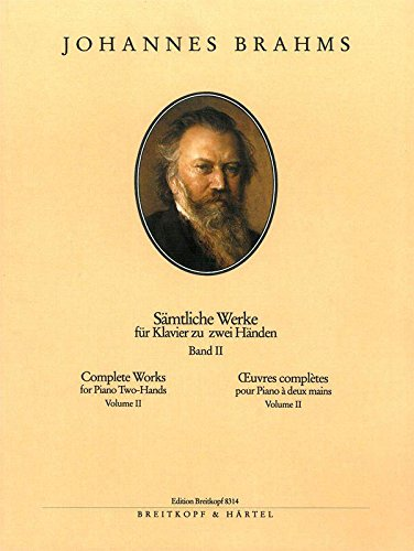 Brahms: Complete Piano Works - Volume 2 (Shorter Piano Pieces)