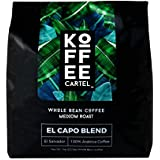 Koffee Cartel El Nazareno Medium Roast Coffee, 2 LB Whole Bean - Premium Arabica Espresso Coffee - Fresh Gourmet Single Estate