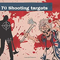 70 Shooting Targets: Zombie Targets 8.5 X 8.5  