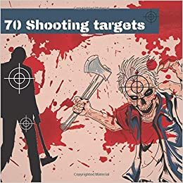 70 Shooting Targets: Zombie targets 8.5