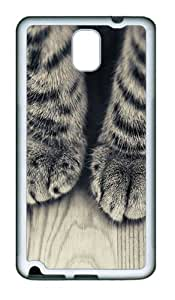 Animals 095 TPU Silicone Case Cover for Samsung Galaxy Note 3 N9000¨C White
